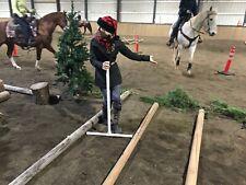 Horse Trail Course Measuring Sticks