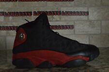 Nike Air Jordan Retro 13 XIII Bred 414571 004 Size 10 Black Red 2017