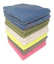 20 x Microfibre Cloths 40 x 40cm * 280GSM Car Cleaning, Drying, Valeting MIXED