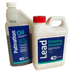 Calder Lead | Patination Oil & Cleaning Solution | Restoration Set