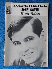 Mister Roberts - Paper Mill Playhouse Theatre Playbill - August 1968 - Gavin