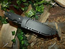M-Tech U.S.A/Knife/Blade/Conceal able/Full tang/Survival/440C/Ss/ Carbon Titanium