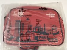 Emirates Fly With Me Lonely Planet Kids Red Airline Retro Bag Crossbody Satchel