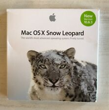 Apple Mac OS X Snow Leopard 10.6.3 Install DVD