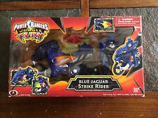 Power Rangers Jungle Fury Blue Jaguar Fury Cycle w 5' Ranger New Factory Sealed