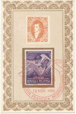 ARGENTINIEN 13.11.1950 Internationale Briefmarkenausstellung, Buenos Aires SST