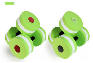 2Pc Water Weight Workout Aerobics Dumbbell Set Fitness Swimming Pool