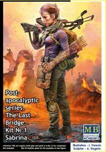 Master Box 24073 - 1/24 Pоst-apocalyptic series. The Last Bridge. No 1. Sabrina