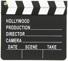 Regieklappe Film Klappe Movie Clapboard Hollywood 17,8 x 20,3cm Scene Take Tafel