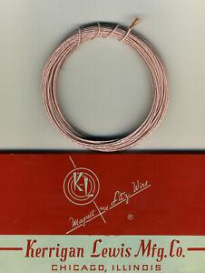 Wire Litz 30 x 0,15mm Spool Of 10 Metres
