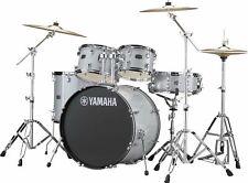Yamaha Rydeen Drum Kit, Silver Glitter w/ Hardware And Paiste Cymbals RDP0F5-SLG