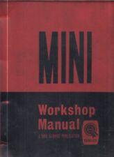 MINI MK1 MK2 850 1000 CLUBMAN 1275GT MOKE COOPER & S 59-70 FACTORY REPAIR MANUAL