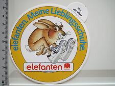 Aufkleber Sticker Elefanten - Meine Lieblingsschuhe - Kinder - Hase (2323)