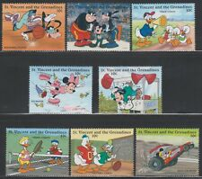 GRENADINES OF ST. VINCENT - DISNEY - CARTOONS - MICKEY'S SPORTS PROFESSIONALS