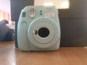 Fujifilm Instax Mini 9 Instant Camera - Ice Blue (Z30)