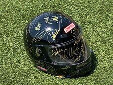 Autographed Indianapolis 500 & Indycar Legends Helmet (Black)