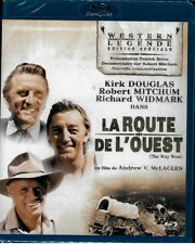 LA ROUTE DE L'OUEST : KIRK DOUGLAS, ROBERT MITCHUM, RICHARD WIDMARK