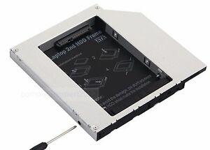 2nd HDD SSD Hard Drive Optical Caddy Adapter for Dell Vostro 1700 1000 1400 1420
