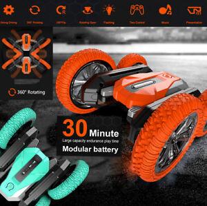 ferngesteuertes auto akku boot spielzeug drift kinder bausatz insekt 360° Spin