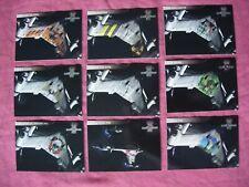 Babylon 5 Season 4 X9 Starfury Nose Art 1:8 chase cards Fleer/SkyBox 1998 VFN