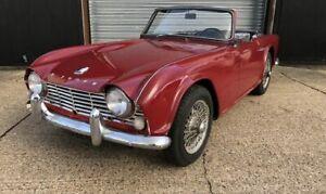 Triumph TR4 - Black Mohair Hood With Plastic Rear Window