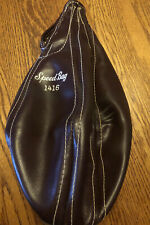 Vintage Leather speed bag (1416) Inflate 2-4 Lbs