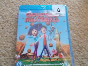 CLOUDY WITH A CHANCE OF MEATBALLS (BLU-RAY) (BRAND NEW & SEALED)