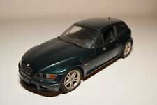 WW 1:18 UT MODELS BMW Z3 COUPE METALLIC GREEN EXCELLENT CONDITION