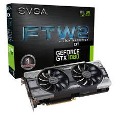 EVGA GeForce GTX 1080 FTW2 DT GAMING, 08G-P4-6684-KR, 8GB GDDR5X, iCX - 9