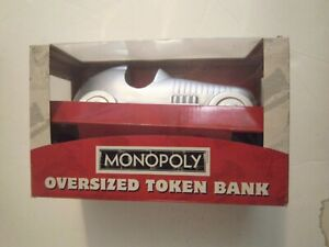 MONOPOLY OVERSIZED CAR TOKEN BANK - USAopoly