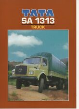 TATA sa 1313 4x4 Truck (base Mercedes-Benz, made in India) _ 1997 prospetto