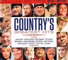 """COUNTRY'S GREATEST HITS """"Deluxe Edition"""" Brand New CD + DVD"""
