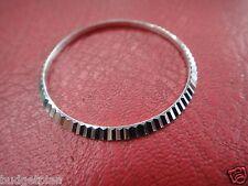 Bezel Ring fits Rolex 16014 Date men's Oyster Datejust s steel silver Color 34mm