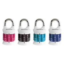 Master Lock Personalized Letter Combination Padlock - 1535DWD - Pack of 2