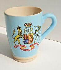 Vintage Lovatts Stoneware H.M.Queen Elizabeth II Coronation 1953 Mug Lovely