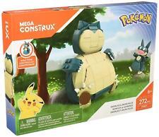Pokémon Snorlax and Munchlax Mega Construx Set Pokemon (272 pcs)