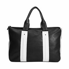 NWT French Connection Black White GRAPHIC LAZER Tote Handbag Bag Shopper Purse