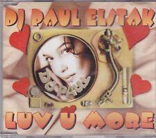 DJ Paul Elstak-Luv U more cd maxi single eurodance Holland