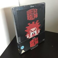 Wreck It Ralph Steelbook Blu-Ray Zavvi Exclusive UK Release Disney Collection #4