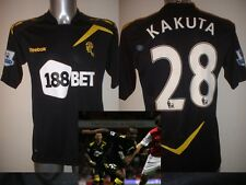 Bolton Wanderers KAKUTA Reebok 2013 Match Player Shirt Jersey Football Soccer M