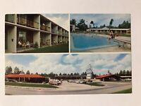 Howard Johnson's Motor Lodge & Restaurant, Folkston Georgia GA Postcard Dec 1961