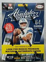 Panini Absolute Football Blaster 2017 Box NFL Trading Cards