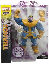 "DIAMOND MARVEL SELECT THANOS & DEATH 7"" ACTION FIGURE SET WITH INFINITY GAUNTLET"