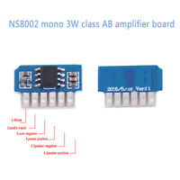 DC 3V 3.7V 5V class AB mono 3W mini amplifier board audio amp module'one chafw