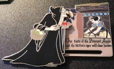 Disney 2017 Snow White 80th Anniversary Evil Old Hag 3-D Slider Pin Le 2000 Ap