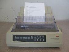 OKI MICROLINE ML-3390 Nadeldrucker parallel + Einzelblattstütze & allen Klappen