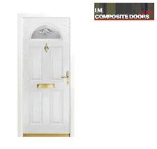 Bannockburn orizzonte Composite porta (£ 675 completamente montato)