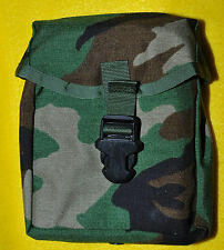 US Army Old Woodland pattern IFAK Pouch only Brand new Sewn in divider