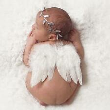 Newborn Baby Girl Boy Angel Wings Costume Photo Photography Prop Hats Outfits