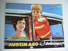 catalogue automobile AUSTIN A60 cambridge